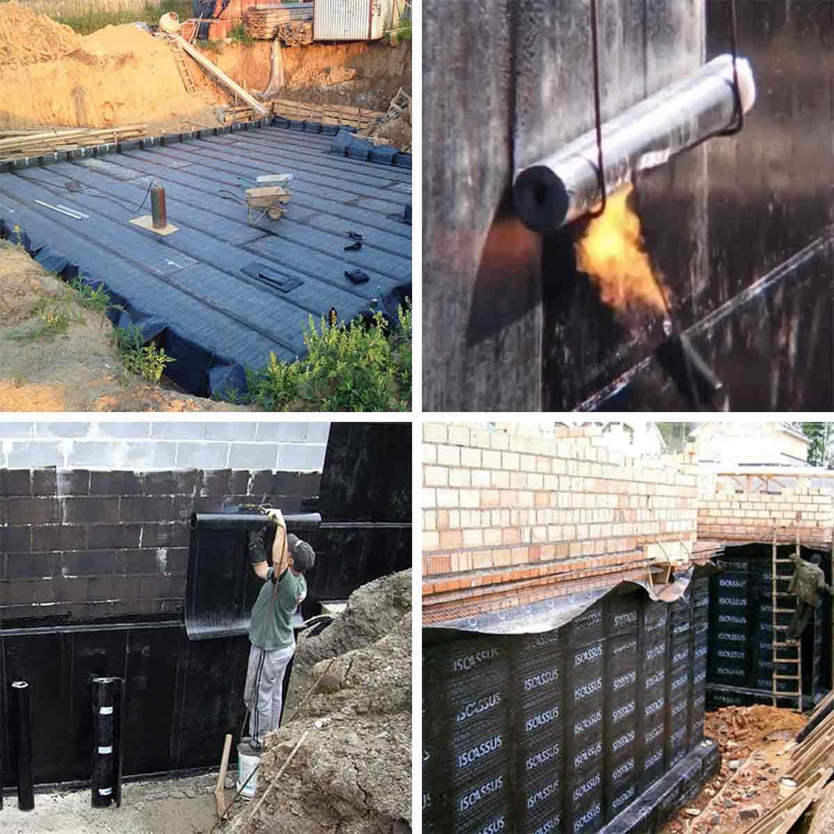 Как сделать гидроизоляцию частного дома 841