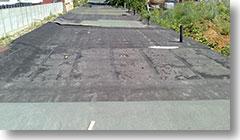 Старая крыша гаража