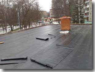 Ремонт и устройство плоской крыши.
