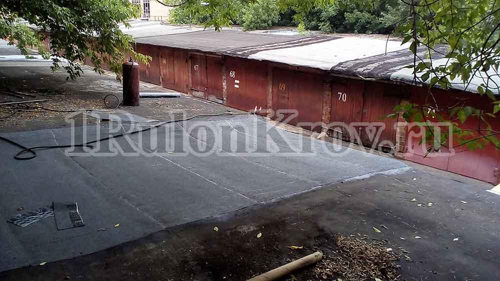 Требуется гидроизоляция крыши гаража в Москве