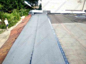 Гидроизоляция крыши гаража Троицк