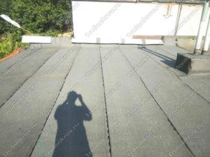 Крыша гаража покрытая Технониколем