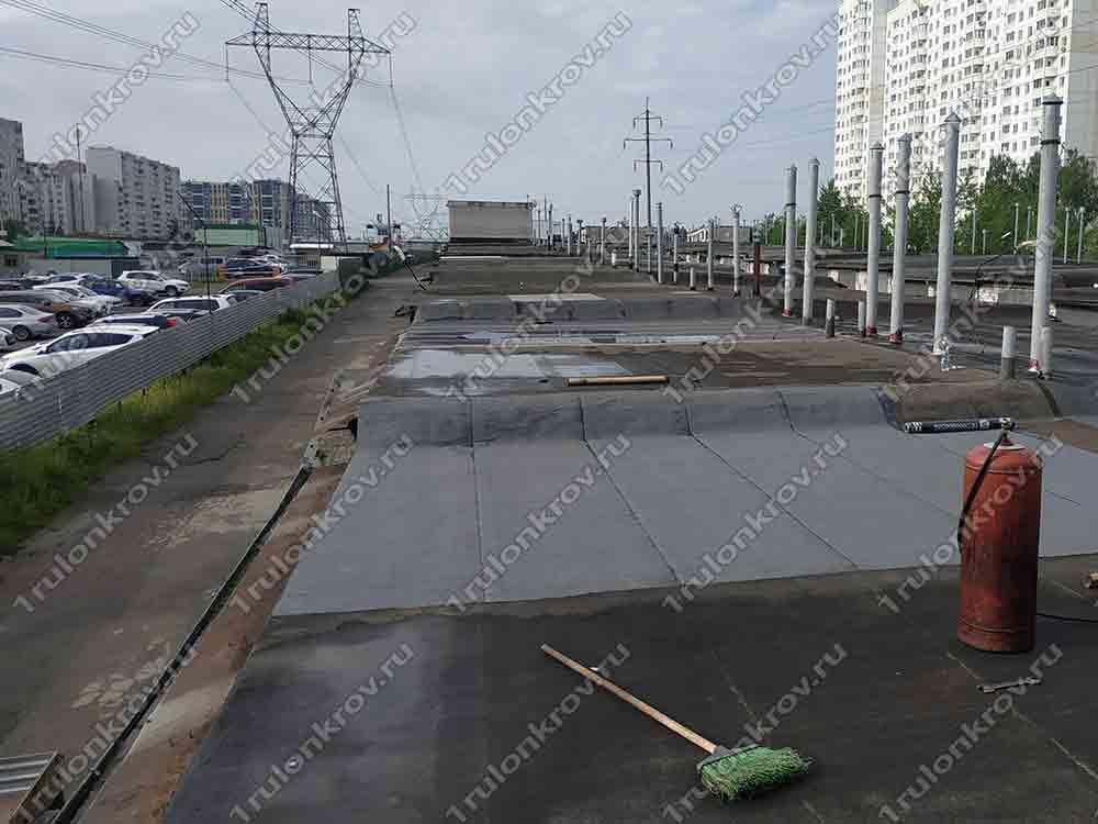 Ремонт крыши гаража Зеленоград