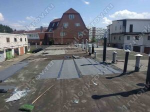 Ремонт кровли на гараже в АГК Крюково Зеленоград