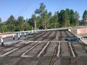 Рубероидная крыша гаража Зеленоград ГСК Спутник