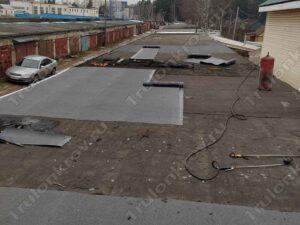 Ремонт плоской крыши на гараже в Раменском