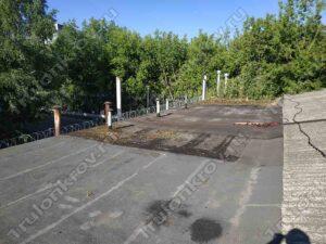 Крыша гаража в Копотне ГСК Лимон