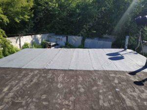 Ремонт крыши гаража ул. Фабрициуса