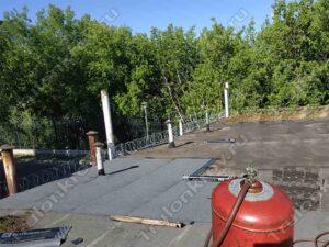 Ремонт мягкой кровли на гараже в Капотне