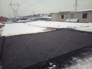 Крыша гаража покрытая Технониколем Зеленоград ГК Карат